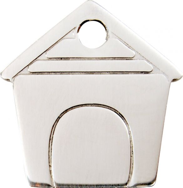 Premium grevierte Hundemarken-ID-Ausweis | Hundemarke + Gravur  |  Schutz + Sicherheit  |  Rostfreier EdelStahl Dog House