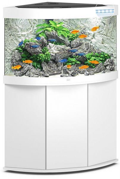 Juwel Trigon 190 LED mit Unterschrank, weiss