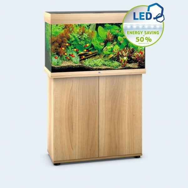 JUWEL Rio 125 LED Aquarium mit Unterschrank SBX helles Holz