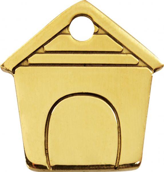 Personalisierte Hundemarken aus Messing Graviert  |  Schutz + Sicherheit  |  Dog House