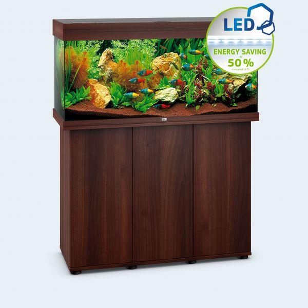 Juwel Rio 180 LED Aquarium inkl. Unterschrank dunkles Holz
